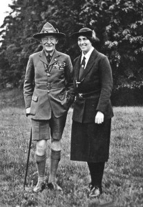 Lord a Lady Baden Powell
