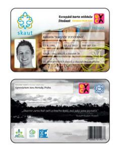 členská karta