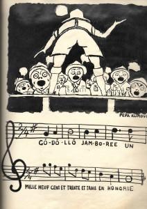 Godolo - píseň z kroniky